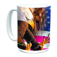 Eagle Freedom 15oz Ceramic Mug | The Mountain | 57410209011 | Eagle Mug