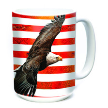 Spirit of America Eagle 15oz Ceramic Mug | The Mountain | 57359909011 | Eagle Mug