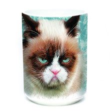 Grumpy Cat 15oz Ceramic Mug | The Mountain | 57368809011 | Cat Mug