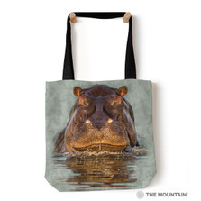 "Hippo 18"" Tote Bag 