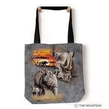"Rhinos 18"" Tote Bag 