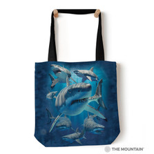 "Great White Sharks 18"" Tote Bag 