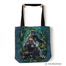 "Gorilla Jungle 18"" Tote Bag 