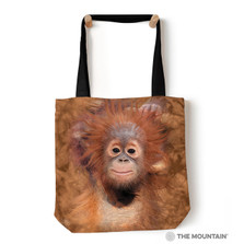 "Orangutan Hang 18"" Tote Bag 