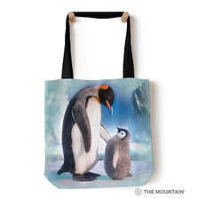 "The Last Emperor Penguin 18"" Tote Bag 