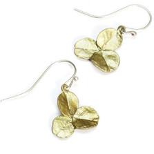 Clover 3 Leaf Wire Drop Earrings | Michael Michaud Jewelry | SS4845BZ