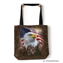 "Independence Eagle 18"" Tote Bag 