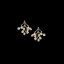 Baby's Breath Sterling Silver Post Earrings   Michael Michaud   3341S   Nature Jewelry