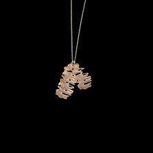 """Birch Sterling Silver 26"""" Two Layer Pendant Necklace   Michael Michaud   9245SC   Nature Jewelry"""