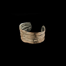 Birch Bark Sterling Silver Cuff Bracelet | Michael Michaud | 7116SC | Nature Jewelry