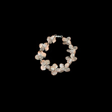 Hydrangea Sterling Silver Bracelet | Michael Michaud | 7204SC | Nature Jewelry