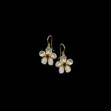 Survivor Tree Sterling Silver Dangle Wire Earrings   Michael Michaud   3337S   Nature Jewelry