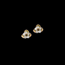 Survivor Tree Sterling Silver Stud Earrings   Michael Michaud   3336S   Nature Jewelry