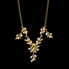 "Flowering Thyme 16"" Adjustable Drop Necklace 