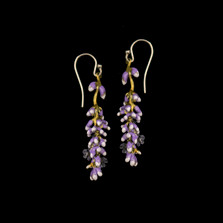 Lavender Wire Earrings | Michael Michaud | 3570BZ | Nature Jewelry