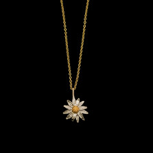 "Daisy 18"" Adjustable Pendant Necklace 