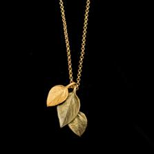 "Sweet Basil 20"" Adjustable Pendant Necklace | Michael Michaud Jewelry | 9340BZ"
