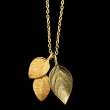 "Sweet Basil 16"" Adjustable Pendant Necklace | Michael Michaud Jewelry | 9341BZ"