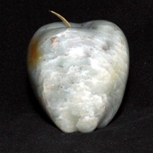 Apple Soapstone Sculpture | Douglas Creek | 4000-4