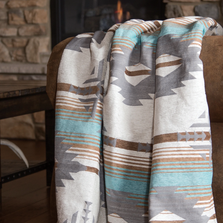 Badlands Southwestern Lined Chenille Throw | Carstens | JB6807