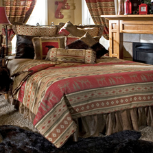 Adirondack Moose Bear Queen Bedding Set | Carstens | JB1101-5