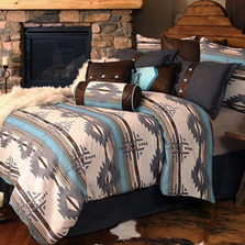Badlands Sky Southwestern Queen Bedding Set | Carstens | JB6543-5