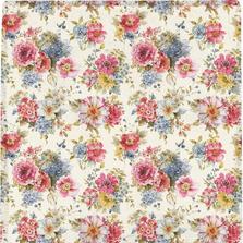 "Flowers Poly Throw ""Summer Garden"" Blanket | SASMGD"