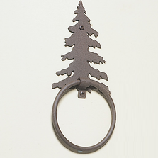 Pine Tree Towel Ring | Colorado Dallas | CDTR13-FRO