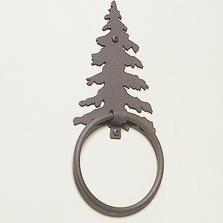 Pine Tree Towel Ring | Colorado Dallas | CDTR13-FRO