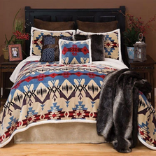 Blue River Southwest Plush King Bedding Set | Carstens | JP582