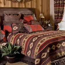 Cimarron Southwestern Queen Bedding Set | Carstens | JB1701-5
