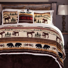 Hinterland Moose Bear King Bedding Set | Carstens | JP512