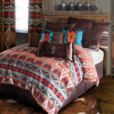 Mojave Sunset Southwestern Queen Bedding Set | Carstens | JB6101-5