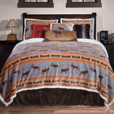 Moose Tracks King Bedding Set | Carstens | JP711
