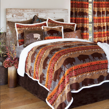 Roaming Bison Southwestern Queen Bedding Set | Carstens | JP806