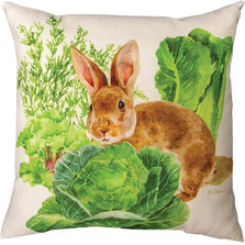 Bunny Trail Max Throw Pillow | SLBUTV