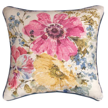 Summer Garden Throw Pillow | SLSMGD