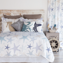 Starfish Reef Queen Quilt Bedding Set | Carstens | NE816