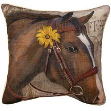 Barnyard Animals Horse Pillow | SLBBAH