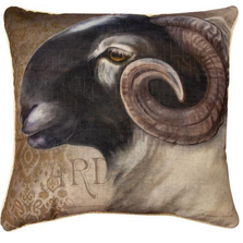 Barnyard Animals Sheep Throw Pillow | SLBBAS