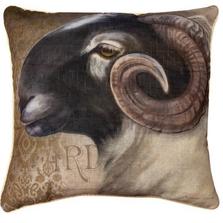 Barnyard Animals Sheep Throw Pillow | SLBBAS