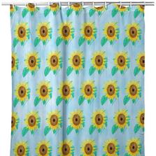 Sunflower Tiled Shower Curtain | BDSH1003T