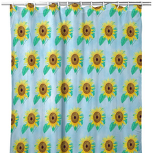 Sunflower Tiled Shower Curtain | BDSH1003T