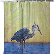 Blue Heron Shower Curtain | BDSH627
