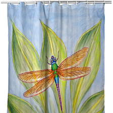 Dick's Dragonfly Shower Curtain | BDSH299