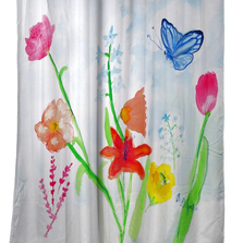 Pastel Garden Shower Curtain | BDSH1102
