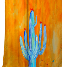 Tall Cactus Shower Curtain | BDSH1110