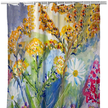 Wild Flowers Shower Curtain | BDSH166