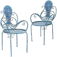 Octopus Arms Iron Garden Chair | Zaer International | ZR160017