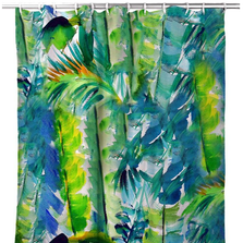 Jungle Greens Shower Curtain | BDSH1116